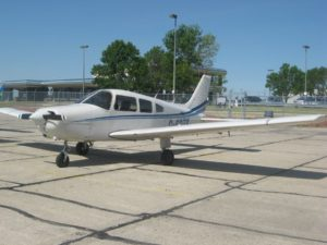 A photo of the missing aircraft, a Piper Warrior PA28-161 owned by Excel Flight Training in Lethbridge, Alta. - Excel Flight Training, Facebook