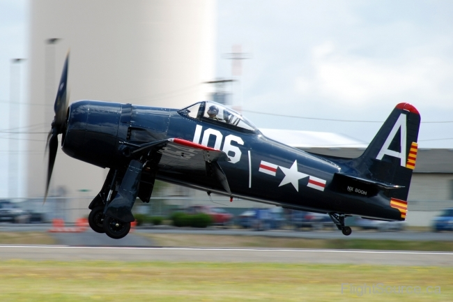 """Wampus Cat"", Grumman F8F Bearcat"