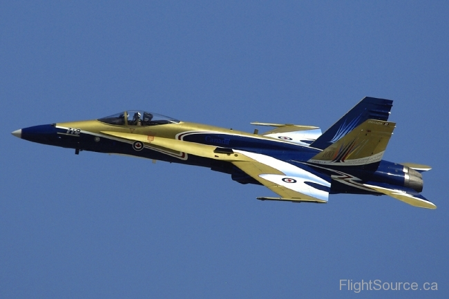 CF-18  100 Years Of Flight colours.