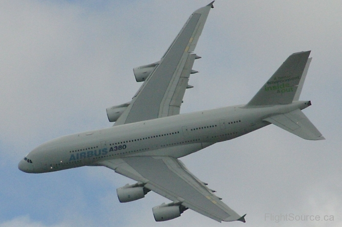 Airbus A380 at Farnborough 08