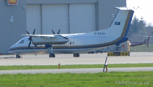 Alberta Dept. of Public Works Dehavilland DHC-8 C-GFSJ