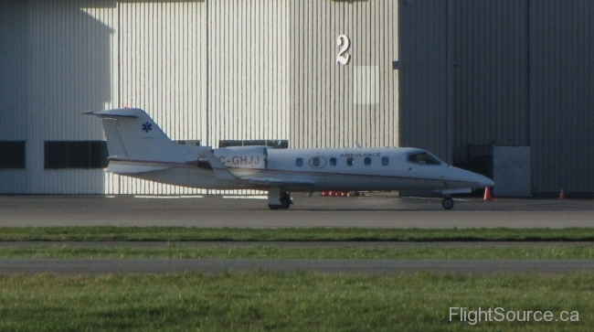 Helijet Int. Inc. Learjet 31A C-GHJJ