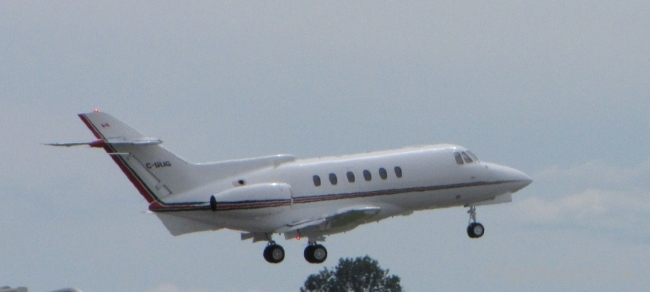 Air 700 Hawker Siddeley 125 C-GLIG