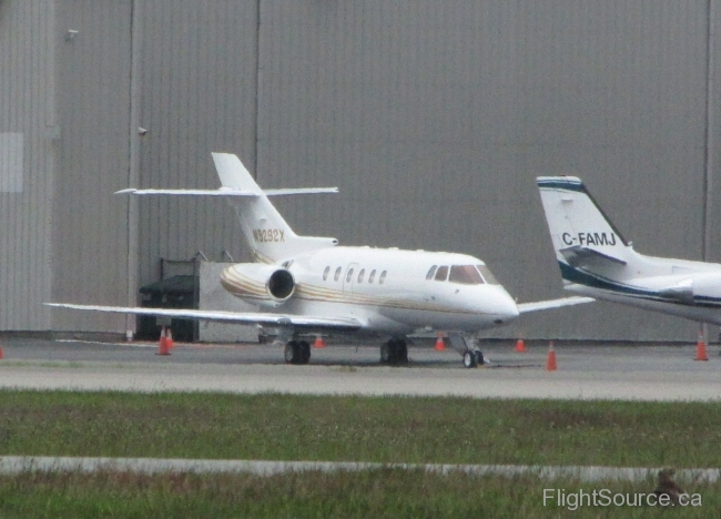 Warner Road Aviation Hawker 800XP N9292X